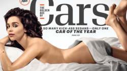 Emilia Clarke, borracha y retocada para su portada en