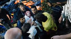 Une réfugiée syrienne accouche sur une plage