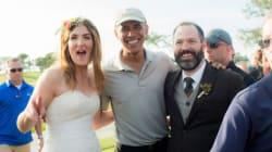 Obama invadiu um casamento. E nós temos as