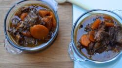 Vite fait, bien fait : queue de bœuf aux carottes et aux