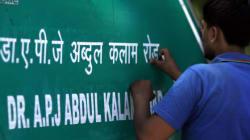 APJ Abdul Kalam Road Will Not Be 'Re-Renamed' As Aurangzeb Road, Decides Delhi