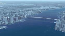Un projet de pont pédestre pour relier Manhattan au New