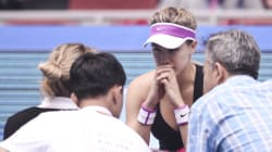 Bouchard Sues Tennis Association Over Fall On 'Slippery'