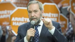 Mulcair: Liberals Still 'Same Old Gang Pulling The Same Old