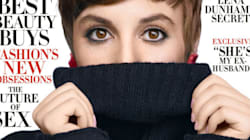 Lena Dunham Isn't Afraid To Bare It All For Harper's Bazaar, But Here's The