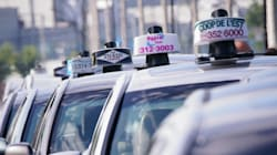 Les taxis font un blocus contre Uber