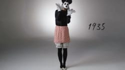 Watch: 100 Years Of Halloween Costumes In Three