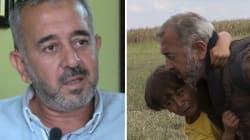 Le réfugié frappé par une journaliste hongroise attend sa famille en