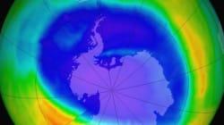 Le «trou d'ozone» au-dessus de l'Antarctique proche du record de