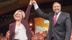 Mulcair Teams Up With Notley In Hopes Of Wooing Alberta