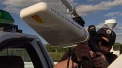 Une arme pour neutraliser les drones sans balles ni