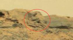 Une statue de Bouddha sur Mars?
