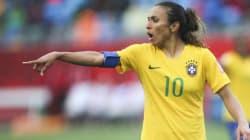 Marta fica fora da lista das melhores do futebol pela 1ª vez desde