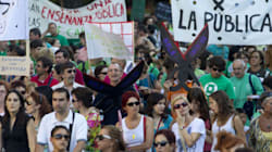 Anger Boils As Spain's Teachers Strike Over
