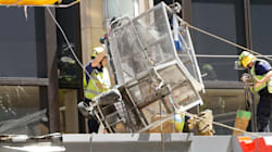 Two Window Cleaners Plunge From High-Rise, Crash Land On Cars, Awning in Sydney