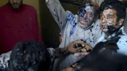 Two Alleged Hindu Sena Activists Arrested For Throwing Ink On J-K MLA's