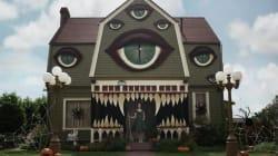 Elle redécore la maison de ses parents pour l'Halloween
