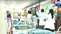 WATCH: Medical Staff At Gujarat Hospital Perform Garba Inside The ICU