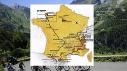 Découvrez le parcours du Tour de France