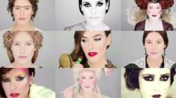 Cette maquilleuse raconte l'histoire du maquillage