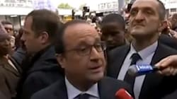 François Hollande hué à La