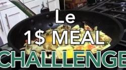 Manger comme au restau pour moins d'un euro? C'est