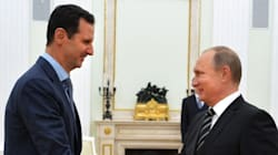 Assad Visits Putin In Russia To Discuss