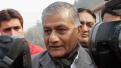 Rajnath Singh Tells V.K. Singh To Watch What He Says After 'Dog'