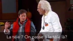 Marty McFly et Doc débarquent chez Jimmy