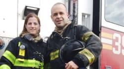 Les pompiers de New York filmés sous toutes les