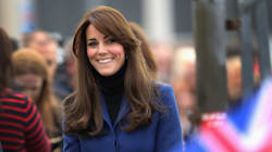 Kate Middleton Brings Back The Coatdress For Latest