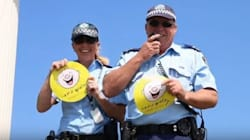 NSW Police Dad-Dance For Charity In Awkward