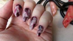 Mani Monday: Creepy Zombie Nail