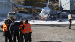 Float Plane Crashes On Yellowknife