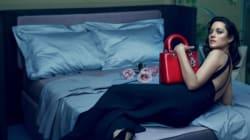 Marion Cotillard magnifique pour la campagne Lady Dior 2016
