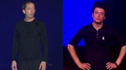 Voici à quoi pourrait ressembler le spectacle de Gad Elmaleh et Kev