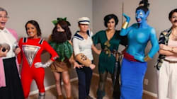 7 Women Dress Up As One Actor Every Year For