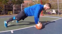 5 exercices pour se muscler avec un ballon de