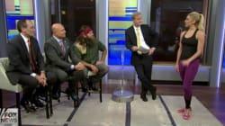 Un défilé de jeunes femmes en leggings sur Fox News déchaîne