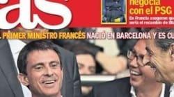 Mais que fait Valls en Une d'un des plus grands quotidiens sportifs