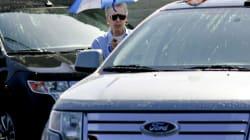 Ford Recalls 129K SUVs in U.S.,