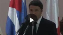 Renzi ci prova con lo spagnolo: