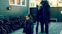 A Daddy-Daughter Costume That Will Scare You Into Next