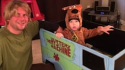 Dad Builds 'Mystery Machine' Costume For Son With