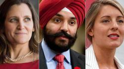 Cabinet Trudeau: les principaux candidats au cercle