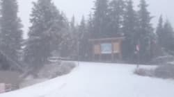 Halloween: Check. Snow In B.C.: