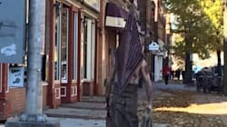Homemade 'Silent Hill' Costume Scares The Crap Out Of