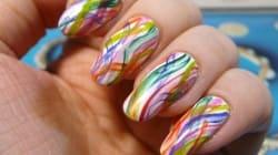 This Rainbow Nail Art Design Is Pretty Much