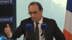 Hollande s'explique sur sa visite préparée à