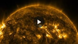 Il Sole in 4k come non l'avete mai